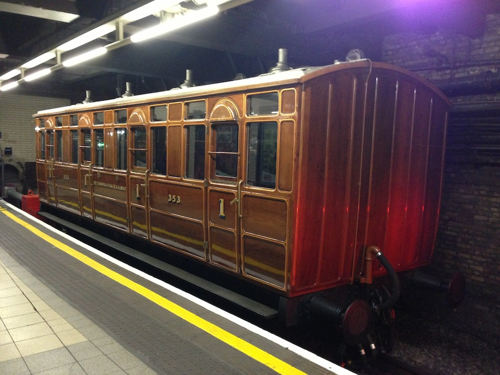 1892 London Underground Carriage