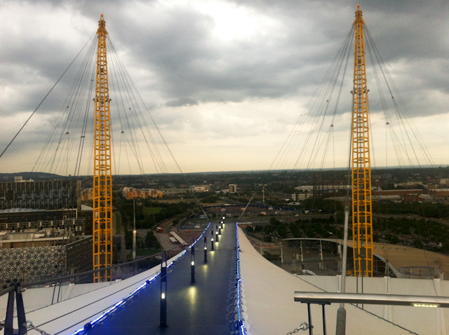 Up At The O2 Review - Walkway