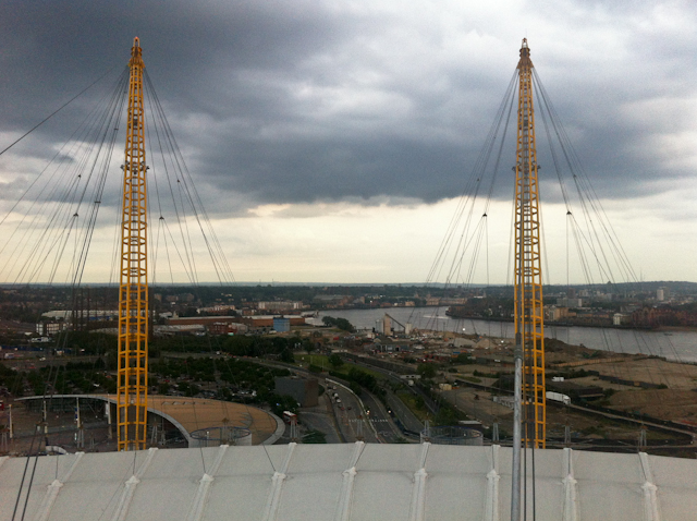 Up At The O2 Review - View