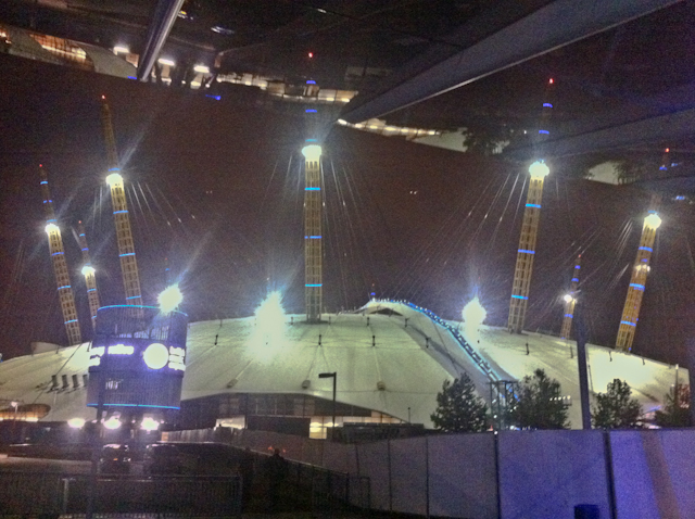 Up At The O2 Review - Night time shot