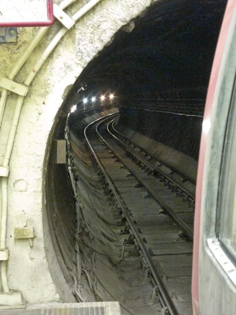 Aldwych Station Tour - Track to Holborn