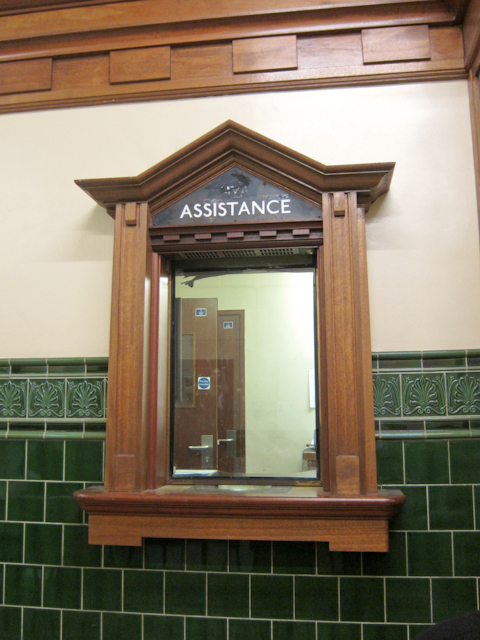Aldwych Station Tour - Assistance Booth