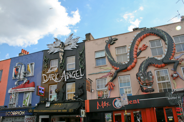 Visiting Camden - Shopping in Camden
