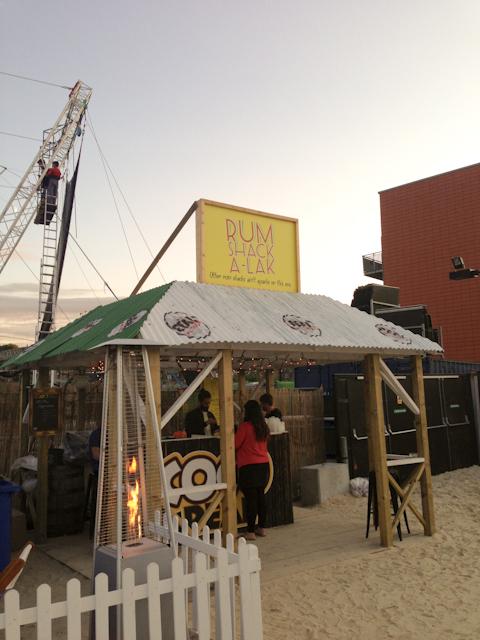 Camden Beach - Rum shack a-lack
