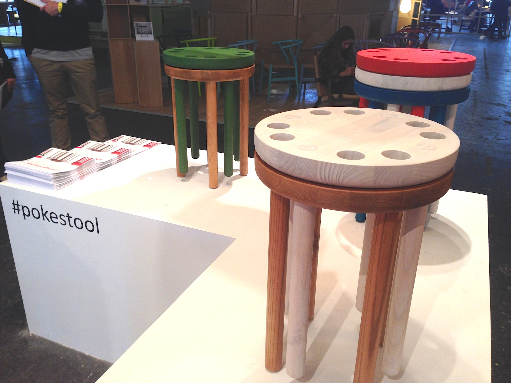 Design Junction London 2013 - pokestool