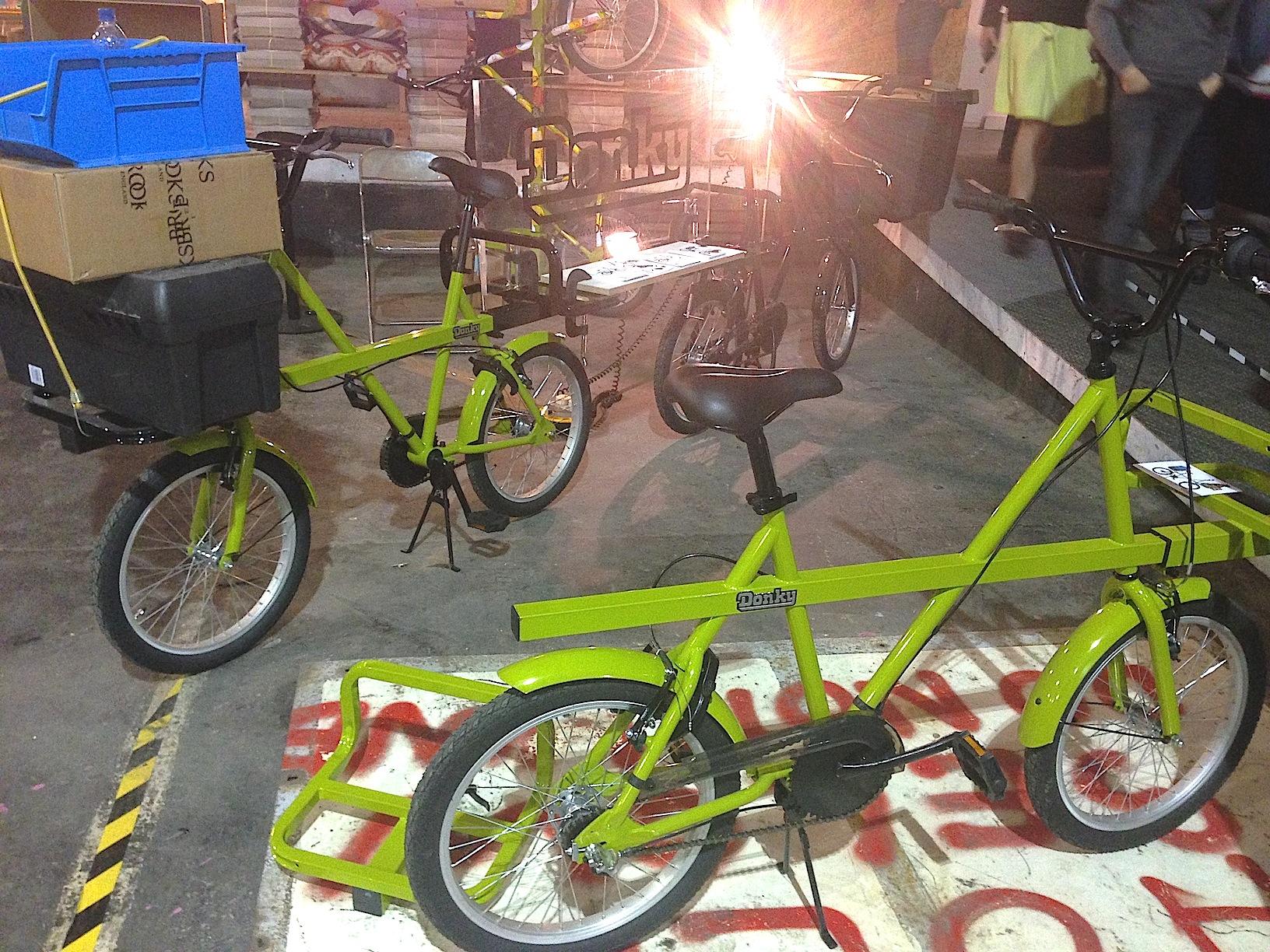 Design Junction London 2013 - Donky Bikes