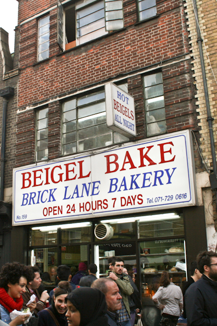 Visiting Brick Lane - Beigel Bake