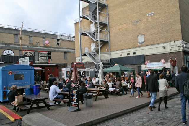 Visiting Brick Lane - Ely's Yard