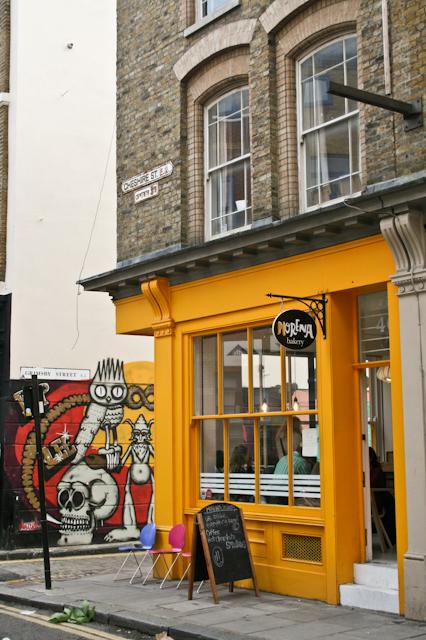 Visiting Brick Lane - Morena Bakery