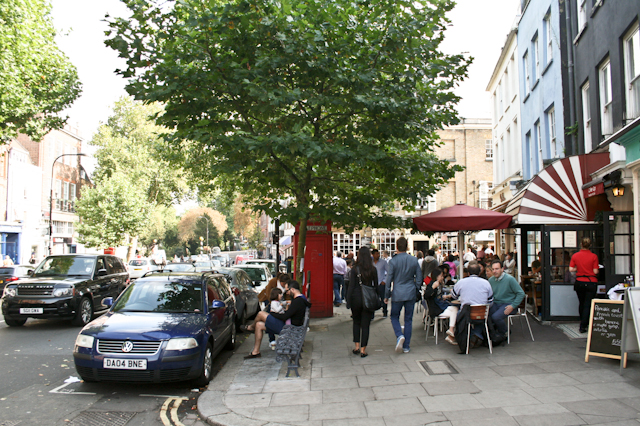 Visiting Hampstead - Hampstead High Street