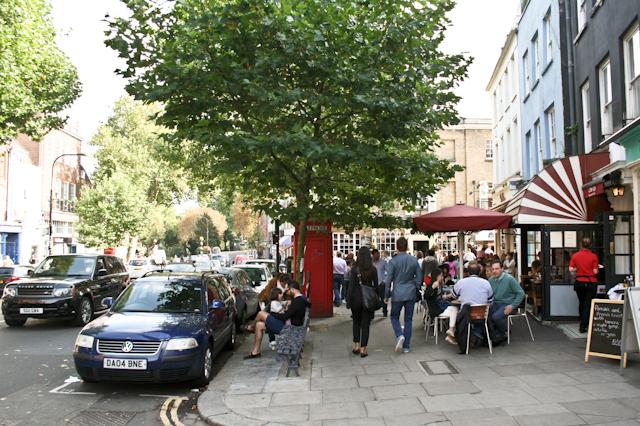 Visiting Hampstead - Hampstead High Street