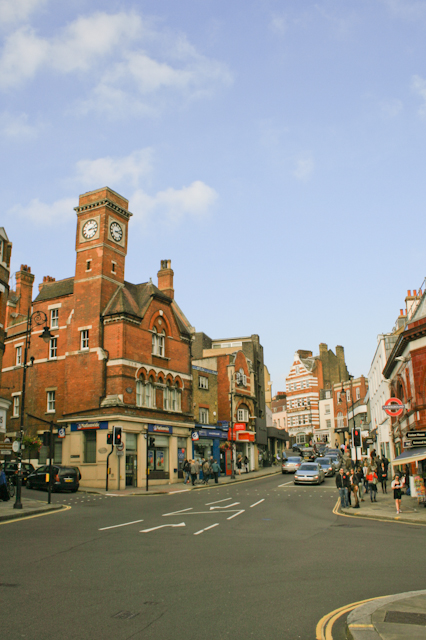 Visiting Hampstead - Heath Street
