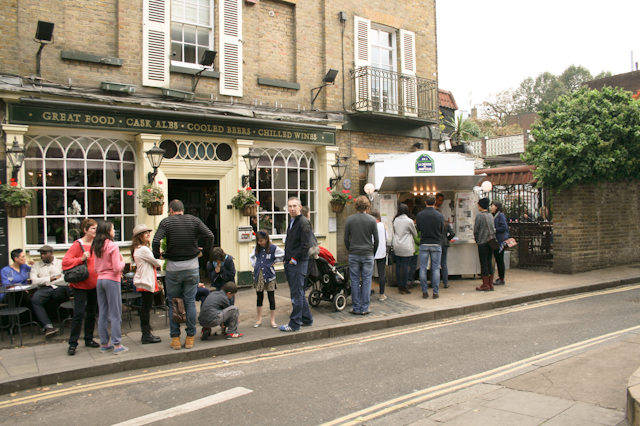 Visiting Hampstead - La Creperie de Hampstead