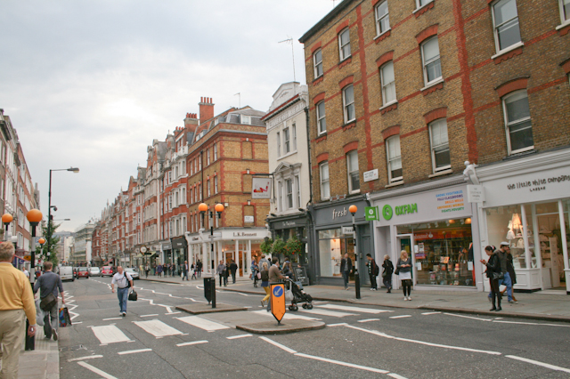 Visiting Marylebone - Marylebone High Street