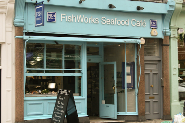 Visiting Marylebone - Fishworks