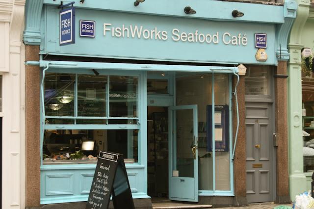 Visiting Marylebone - Fishworks
