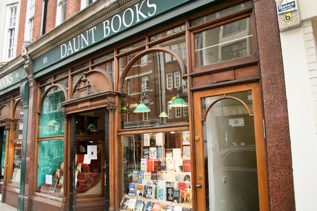 Visiting Marylebone - Daunt Books