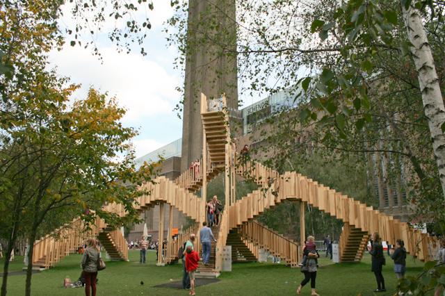 Visiting The South Bank - Tate Modern