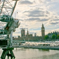 Visiting The South Bank - Houses of Parliament and Big Ben
